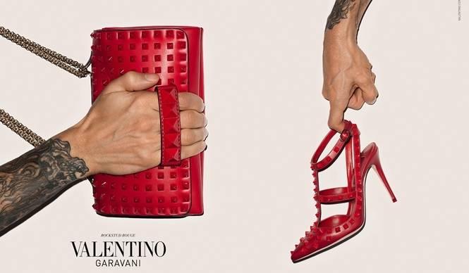VALENTINO|初となるアクセサリー広告キャンペーンをテリー・リチャードソンが撮影