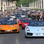 ランボルギーニ50周年 生まれ故郷に大集合 Lamborghini