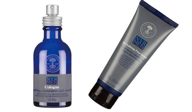 NEAL'S YARD REMEDIES|男性用スクラブ洗顔剤と人気の香りが再登場