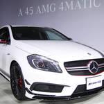 最強のAクラス A 45 AMG 4MATIC 日本上陸|Mercedes-Benz
