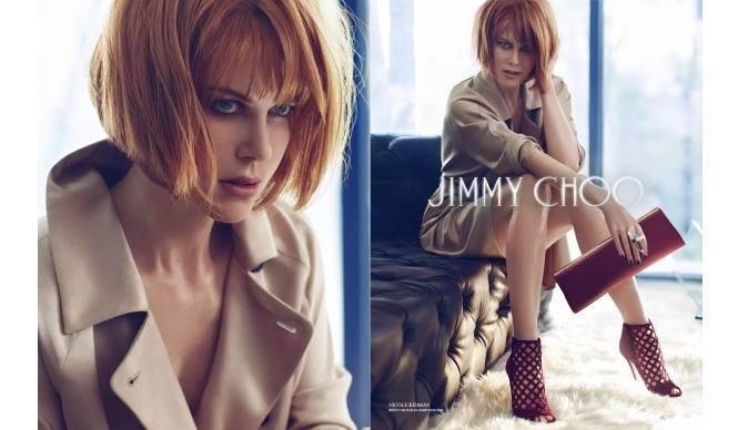 JIMMY CHOO|ニコール・キッドマンを起用した広告キャンペーン