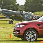 レンジローバー スポーツ vs. スピットファイア Range Rover