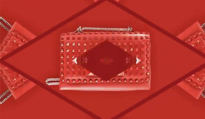 VALENTINO|新作ロックスタッズ「ルージュ」が店舗限定発売