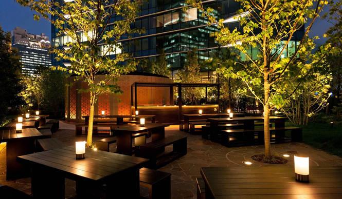 グランフロント大阪のシャンパーニュ&ビアガーデン GRAND FRONT OSAKA
