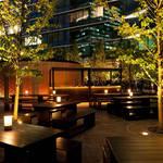 グランフロント大阪のシャンパーニュ&ビアガーデン|GRAND FRONT OSAKA