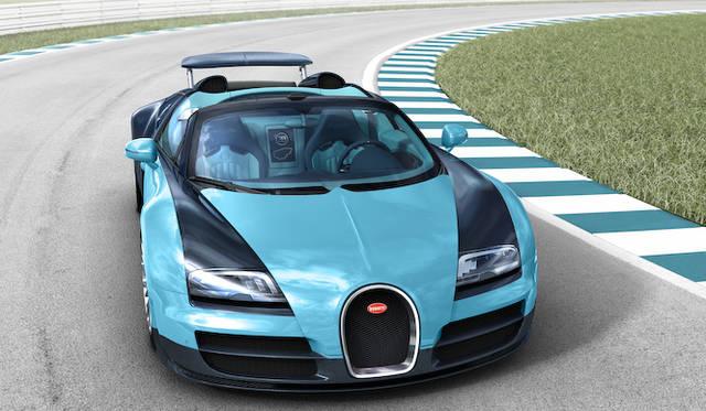 往年の名ドライバーの名を冠したヴェイロン Bugatti