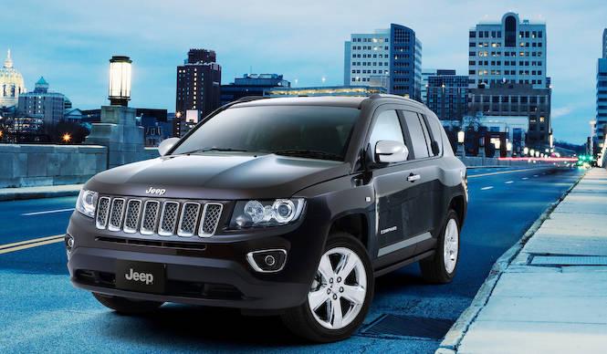 ジープ コンパスに高級感のあるクローム仕立ての限定車|Jeep
