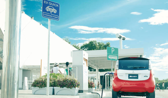 EV充電設備の大幅拡充にむけて国産4社が共同プロジェクト