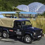 電気で駆動するSUV ディフェンダー 試験運用へ Land Rover