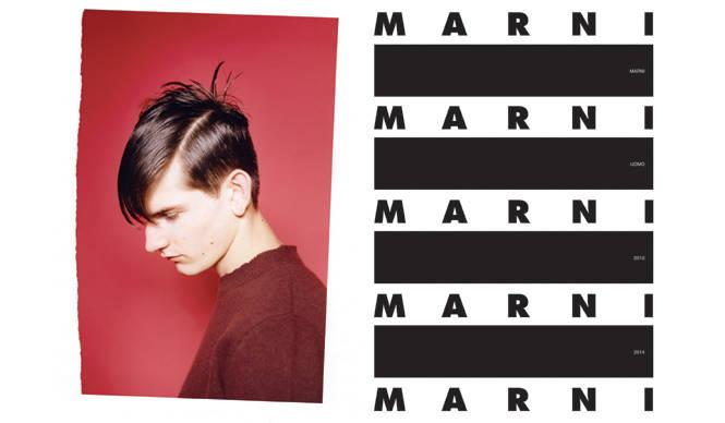 MARNI|2013-14秋冬メンズコレクションのイメージブックを発売