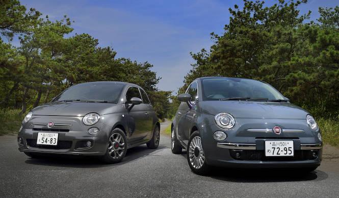 2つの フィアット 500 ツインエア に試乗|Fiat