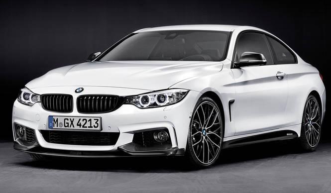 4シリーズクーペ用の「Mパフォーマンスパーツ」を発表|BMW