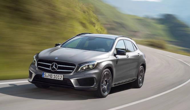 新型コンパクトSUV「GLAクラス」公開 Mercedes-Benz