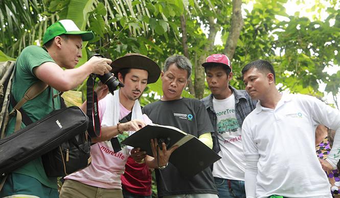 more trees|フィリピン・キリノ州での森林再生プロジェクト
