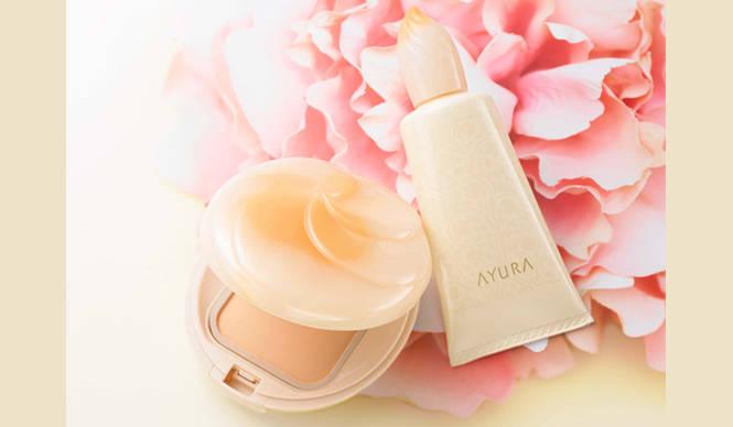 AYURA|素肌までも美しいと感じさせる肌へ。新感覚ベースメイク誕生