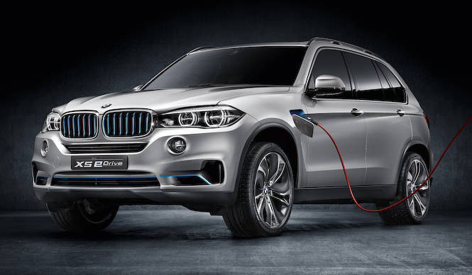 X5をベースにした プラグイン ハイブリッド コンセプトを発表|BMW