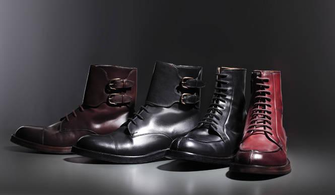 GUCCI 新作ブーツで完成するグッチ流ミリタリーミックス