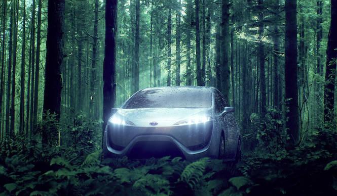 トヨタ、次世代燃料電池車技術を「FCV-R」で披露|TOYOTA