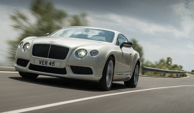 コンチネンタルGT V8にスポーティな「S」|Bentley