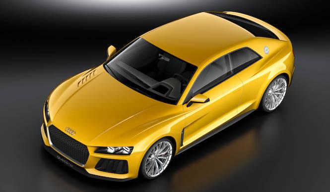 アウディ スポーツ クワトロ コンセプト発表|Audi