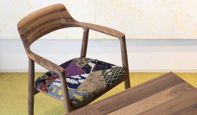maruni HIROSHIMAとミナ ペルホネンのコラボの椅子 誕生