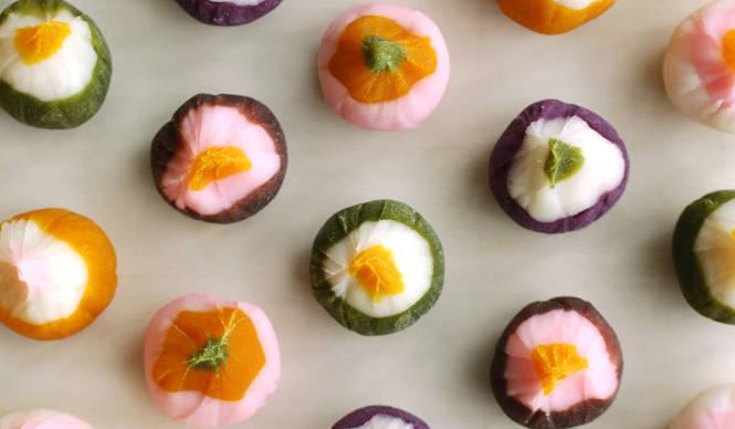EAT|ヒガシヤ×ミナ ペルホネンによる限定「ひと口果子」が発売