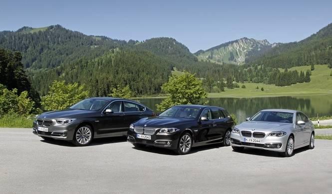 マイナーチェンジを果たした5シリーズが日本で発売 BMW