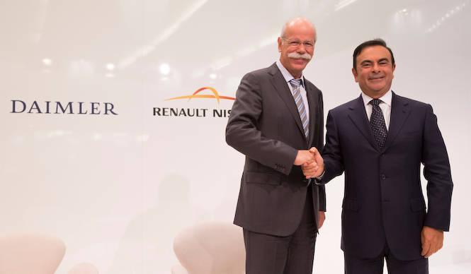 ルノー・日産アライアンスとダイムラーの世界戦略 Renault-Nissan & Daimler