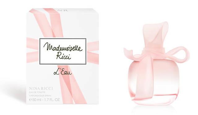 "NINA RICCI あなたの""愛の告白""を綴るようなフレッシュで情熱的なパリの香り"