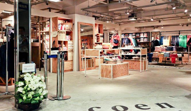 coen 「コーエン ジェネラルストア」西武新宿ペペにオープン