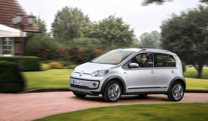 SUVルックの「クロスup!」欧州で発売|Volkswagen