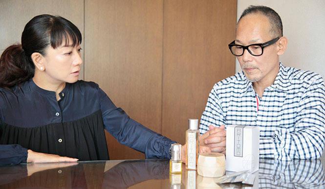 有巴|藤原美智子と中辻 正が語る「あたらしい化粧品のカタチ」