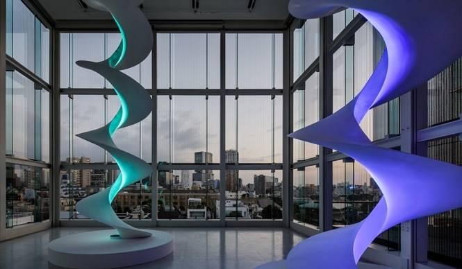 ART|エスパス ルイ・ヴィトン東京で森万里子『Infinite Renew』展