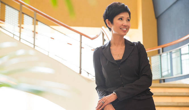 Secrets behind the Success 連載第4回 「ザ・ペニンシュラ香港」総支配人レイニー・チャンさん