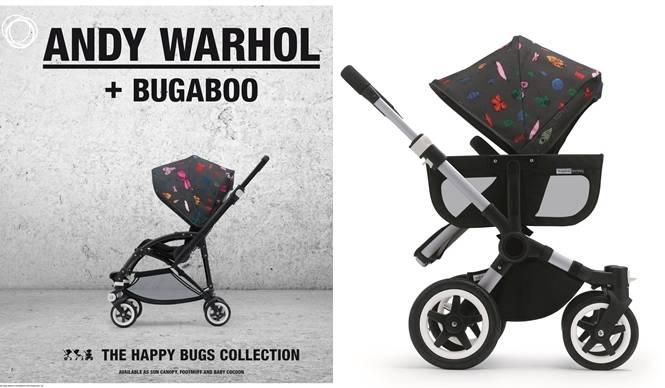 ANDY WARHOL + BUGABOO|A・ウォーホルとのコラボ第2弾