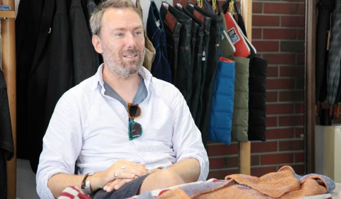 The garbstore|デザイナー イアン・ペイリーが秋冬の新作を解説
