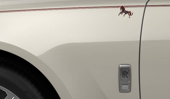 甲午をモチーフにしたビスポークのゴースト|Rolls-Royce