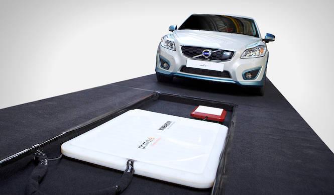 ボルボ、EVのワイヤレス充電の研究成果を発表|Volvo