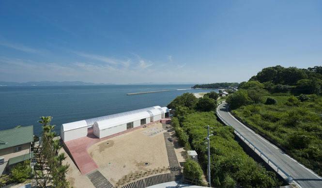 CASE-REAL|豊島(てしま)に「海のレストラン」オープン