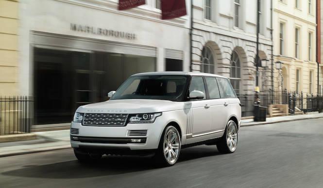 レンジローバーにロングモデルと最上位モデルを追加 Range Rover