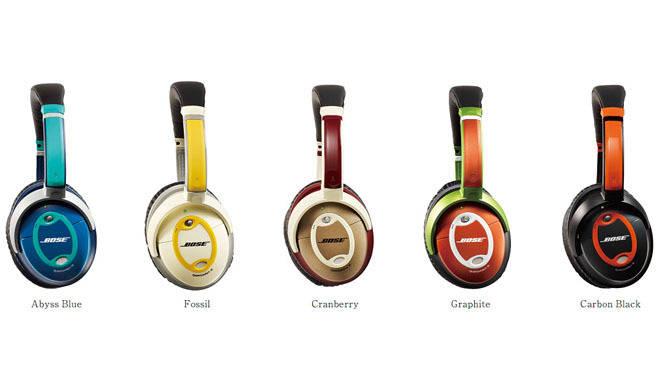 BOSE|5色のノイズキャンセリング・ヘッドホン発売