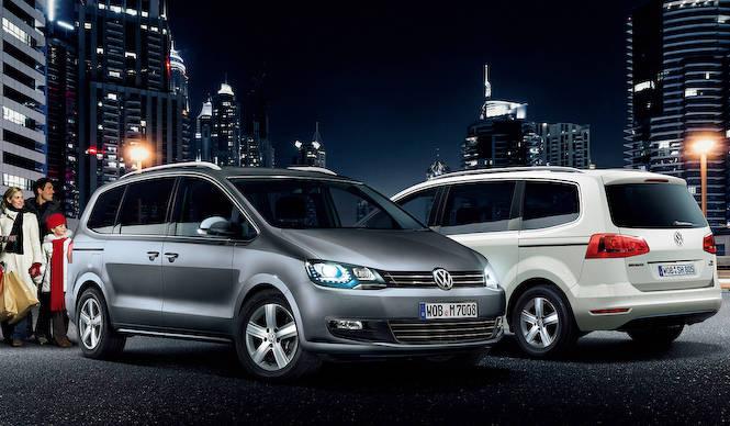 2台のミニバンに装備をアップグレードした特別仕様車|Volkswagen