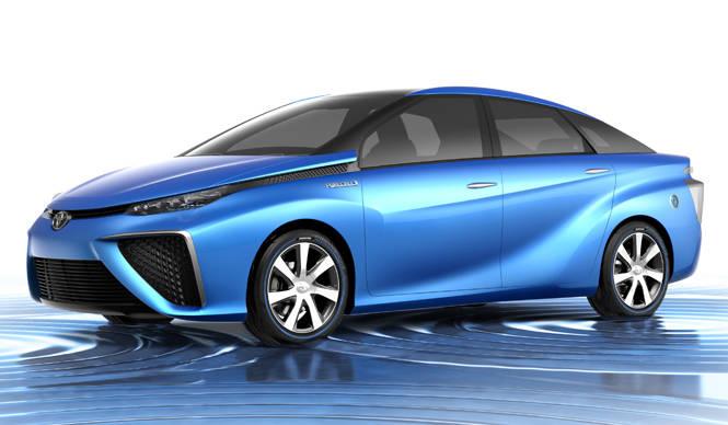 東京モーターショーで次世代燃料電池車を世界初披露|Toyota