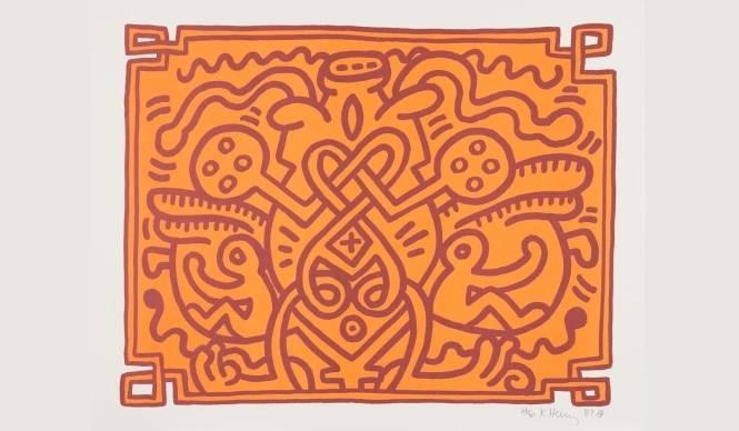 ART|山梨県で『キース・ヘリングの記号性 vol.2』展