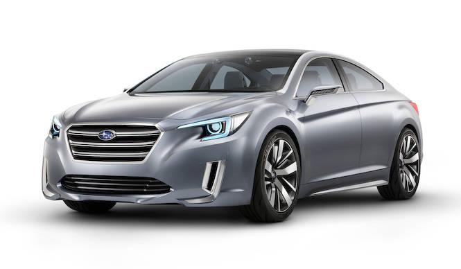 次期レガシィのデザインコンセプトがロサンゼルスに登場|Subaru