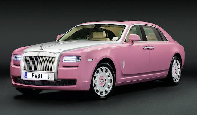ピンクのロールスをクラシックモーターショーに出展|Rolls-Royce