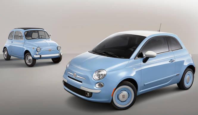 先代500にインスパイアされたレトロなチンクエチェント Fiat