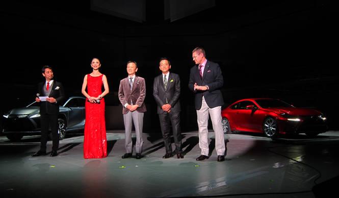 新型クーペ「RC」をひとあし先にお披露目 Lexus