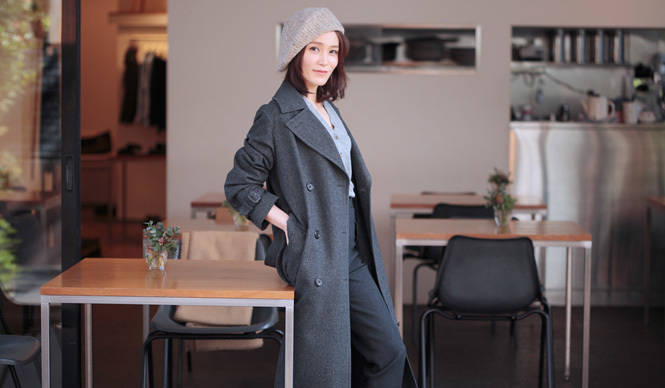 MARGARET HOWELL|GIFTS FOR CHRISTMAS|女優・山口紗弥加さんに聞く