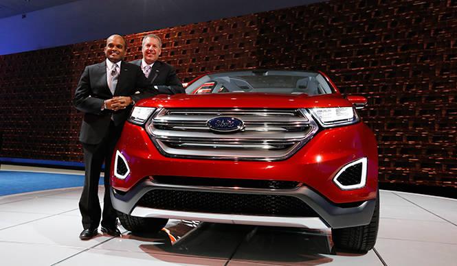 フォード エッジ コンセプトを発表|Ford